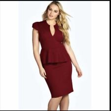 Boohoo Peplum Dresses for Women