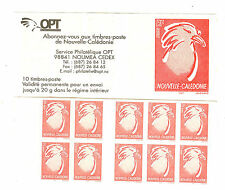 TIMBRES NOUVELLE CALEDONIE YVERT CARNET N° C 894 **
