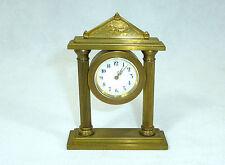 Seltene Bronze Uhr um 1900