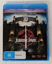JURASSIC PARK 3D Blu-ray + 2D Blu-ray 2-DISC Region B oz seller