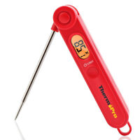 Instant Read Digital Meat Magnetic Thermometer For BBQ Grill Smoker W/ Backlight