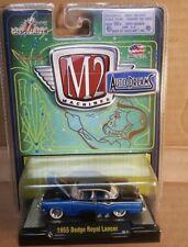 M2 MACHINES  AUTO DREAMS - 1955 DODGE ROYAL LANCER - RELEASE 10  -1:64 -NIP