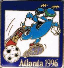 1996 Atlanta Izzy Olympic Soccer Mascot Sports Pin