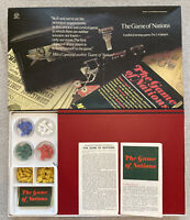 Vintage The Game of Nations Board Game Waddingtons 1976 Complete!