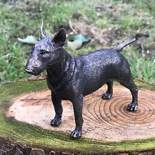 English Bull Terrier Cold Cast Bronze Figurine Sculpture Dog Lovers Gift EBT