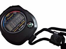 CRONOMETRO DIGITALE + bussola x PALESTRA bici CORSA timer ALLARME orologio SPORT