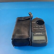Radio Shack Digital Sound Level Meter Tester 33 2055 With New Battery
