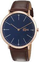Lacoste Original 2010871 Men's Brown Leather Watch 40mm