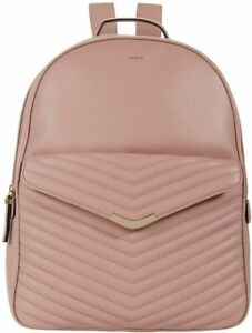 ALDO Quilted Backpack Bookbag Blush Pink NWT