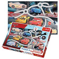 Trefl Puzzle 70 Pezzi + Marker Boys Cars Saetta McQueen racing game