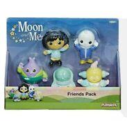Moon and Me - Friends 5 Figure Pack *BRAND NEW* Playskool  FREEPOST