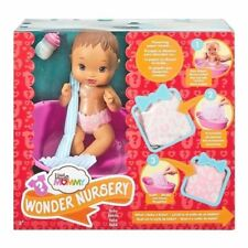 """Fisher-Price Little Mommy Wonder Nursery Baby Doll 10"""" Tall With Outfit Hispanic"""