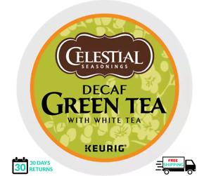 Celestial Seasonings Green Tea Decaf Keurig Tea K-cups YOU PICK THE SIZE