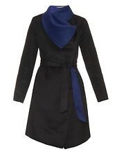 $795.00 NWT Diane Von Furstenberg DVF Marilyn Coat Size Large L NEW