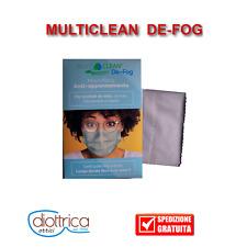 Panno per pulizia occhiali in microfibra antiappannante obiettivi fotocamera