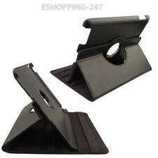 New Black 360 Rotating Smart Leather Stand Case Cover Holder For iPad
