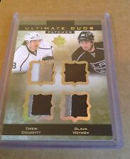 13-14 2013-14 ULTIMATE COLLECTION DREW DOUGHTY SLAVA VOYNOV DUAL PATCH /25 KINGS