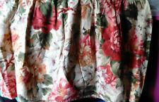 "Ralph Lauren ""Constance"" King Bedskirt-Rare Cotton Weave-Heavy Cotton"