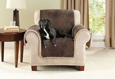 Sure Fit Vintage Leather Furniture Chair Cover - Brown SALE !