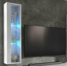 Matt & High Gloss White Living Room TV Display Cabinet