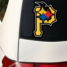 Pittsburgh Sports Combined  Indoor/Outdoor Car Wall Decal Steelers, Pirates
