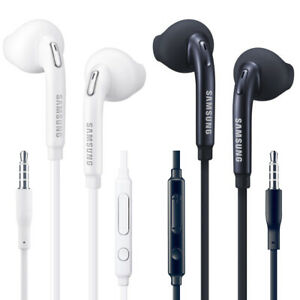 New Original OEM Samsung Galaxy S6 S7 S8+ S9+ S10+ Headset EO-EG920BW Headphones