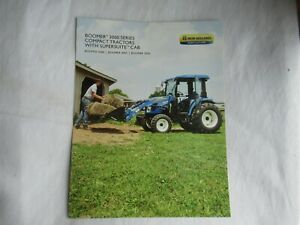 New Holland Boomer 3040 3045 3050 3000 series tractor brochure