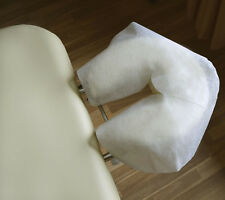 DISPOSABLE MASSAGE TABLE FACE CRADLE/HEAD REST COVERS, Pack of 500