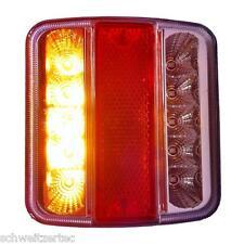E4 LED Anhänger Rücklicht Rückleuchten Licht Leuchte Anhängerbeleuchtung klar