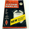 *THE RADIO AMATEUR'S LICENSE MANUAL* Vintage ARRL 1967 HAM Test Preparation 58th