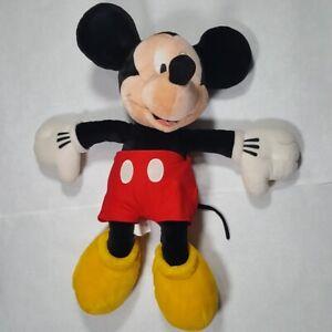"Disney 24"" Mickey Mouse Jumbo Plush Huge Stuffed Animal Big Character Toy Large"