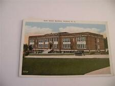 VINTAGE POSTCARD EAST SCHOOL BUILDING SANFORD NC  WHITE BORDER