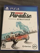 Burnout Paradise Remastered (Sony PlayStation 4, 2018) EA Game Brand New Sealed