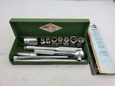 Vintage SK Tools Lectrolite 14 Piece 1/4