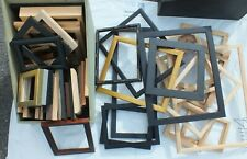 Picture Frames - approx 5kg various styles and sizes - frame outer only