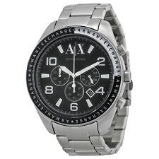 **NEW** MENS ARMANI EXCHANGE WHITE AX  SPORTS XL  WATCH - AX1708 - RRP £179