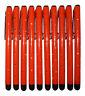 10x Orange Stylus Touch Pen Strass Optik Tablet Handy Bedien Stift Glamour