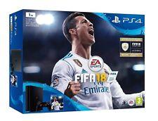 VIDEOCONSOLA SONY PS4 1TB + FIFA 18 + PS PLUS 14D