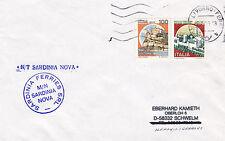 ITALIAN FERRY NT SADINIA NOVA A SHIPS CACHED COVER