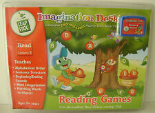 Leap Frog Imagination Desk Reading games Interactive activity Book  Lesson 3