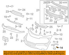 GM OEM Front Bumper Grille Grill-Cover Support Bolt 94520666