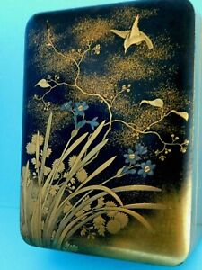 JAPANESE ANTIQUE LACQUER BOX
