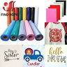 PU Heat Transfer Vinyl Iron-on HTV T-Shirt Textiles Cricut Film Heat press Vinyl
