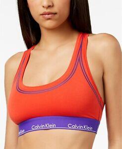 SIZES Calvin Klein Memory-Foam Contrast Bralette QF4588