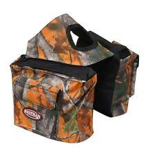 Showman ORANGE REAL OAK Camouflage Western Saddle Horn Bag!! NEW HORSE TACK!!!