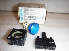 Siemens LED Blue 24V Indicator Light, 3SB3 244-6BA50