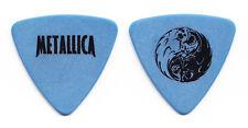 Metallica Jason Newsted Yin Yang Blue Bass Guitar Pick - Large Print - 1998 Tour