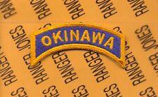 USAAF US 5th Air Force OKINAWA tab arc patch
