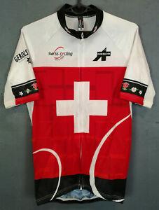 SHIRT ASSOS SWITZERLAND WOMEN'S LADY CYCLING BICYCLE BIKE JERSEY MAGLIA SIZE M 3