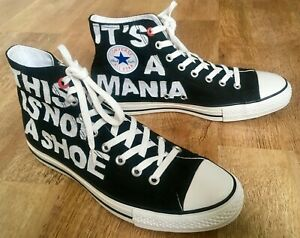 Converse Product (Red)  by Artist Andrew Mania  Limited Edition Size 10 US